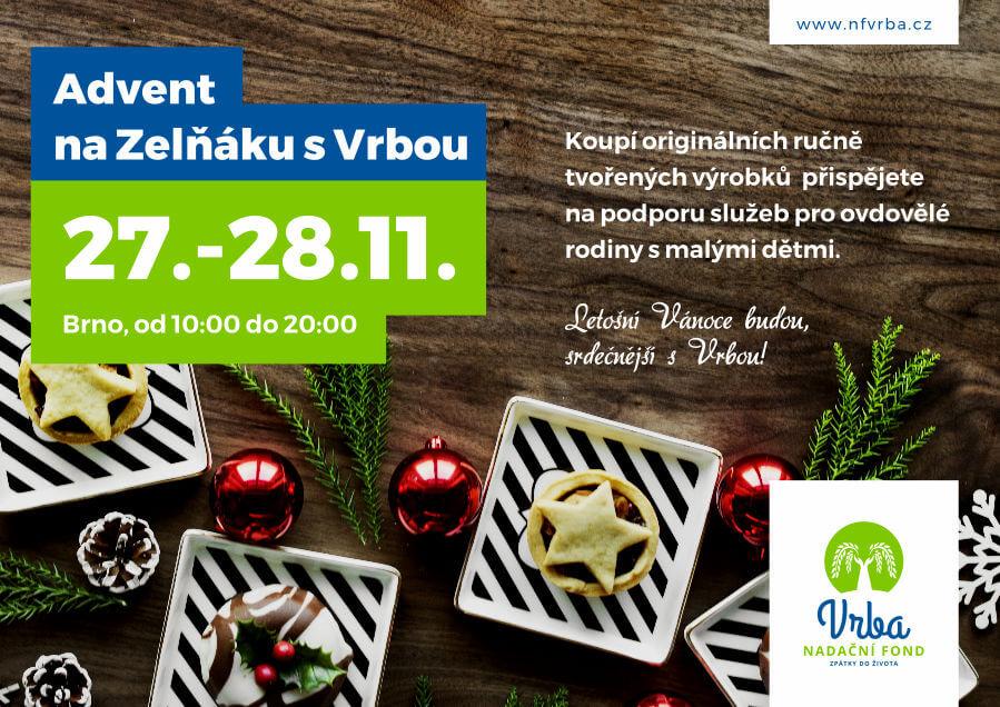 Advent na Zelňáku s Vrbou (Brno, 27.-28.11.)