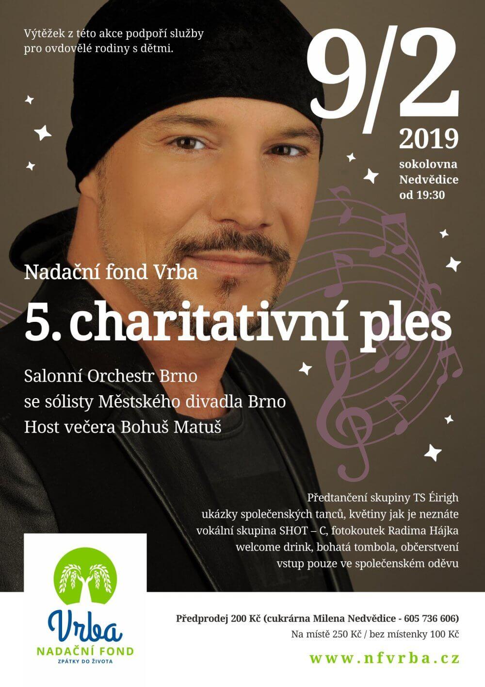5. charitativní ples NF VRBA
