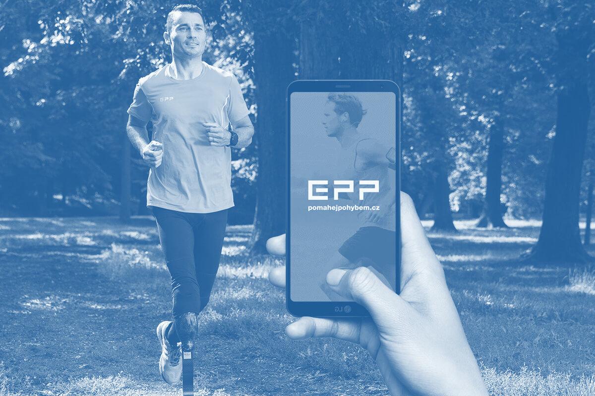Pomáhej pohybem s aplikací EPP od nadace ČEZ