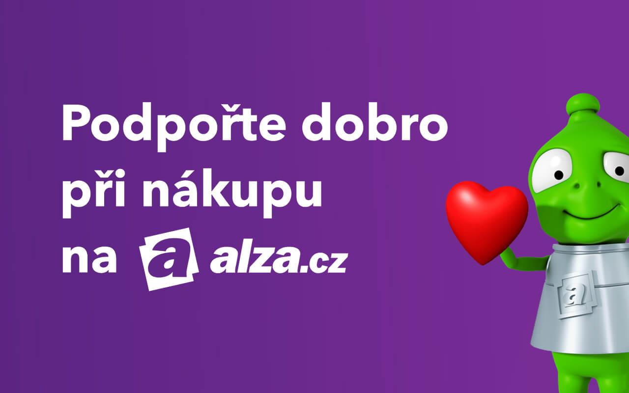 Podpořte dobro při nákupu na alza.cz